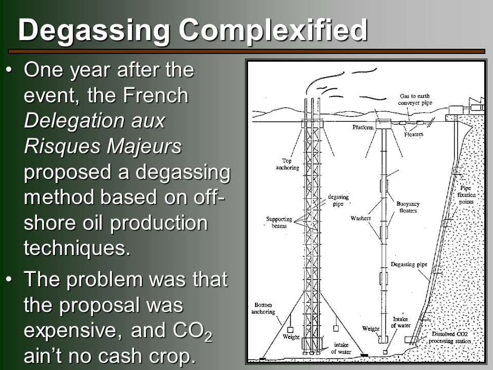 Degassing Complexified