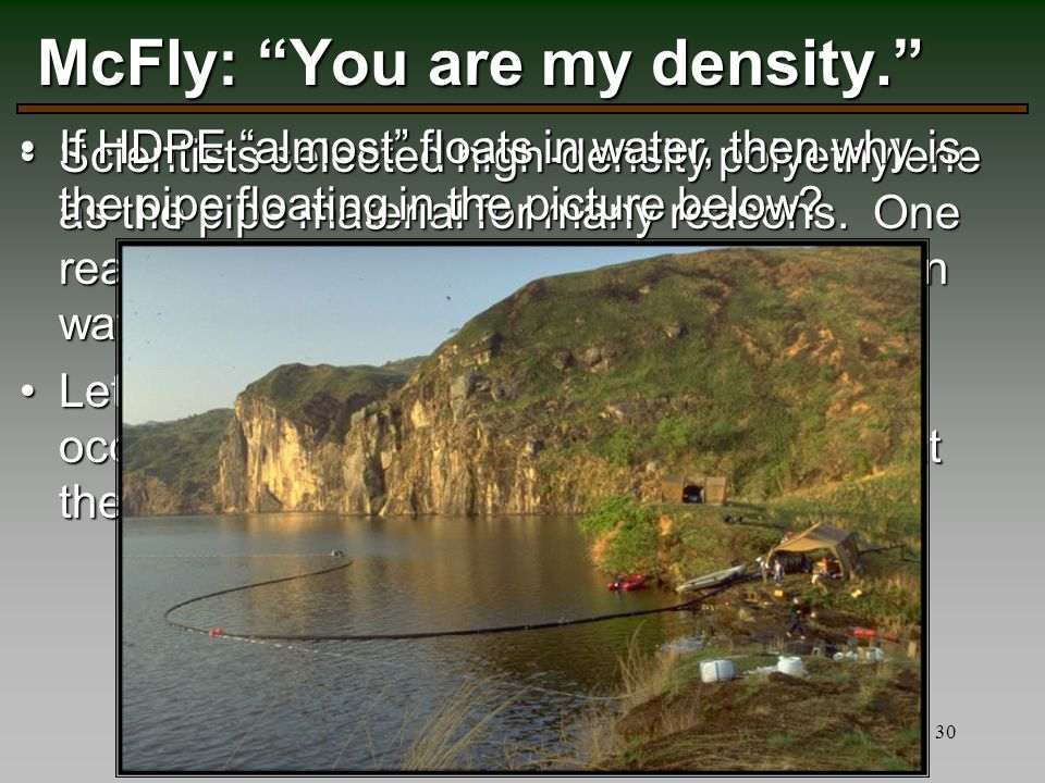 McFly: You are my density.