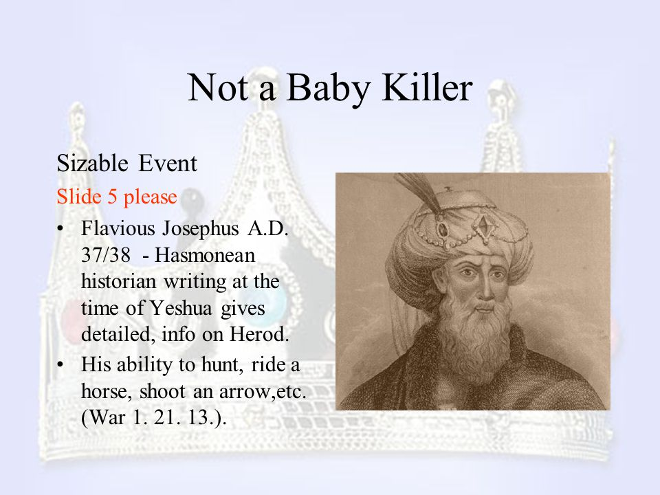 Not a Baby Killer Sizable Event Slide 5 please