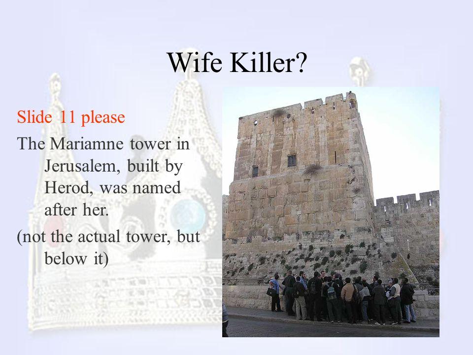 Wife Killer Slide 11 please