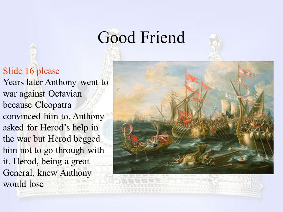 Good Friend Slide 16 please