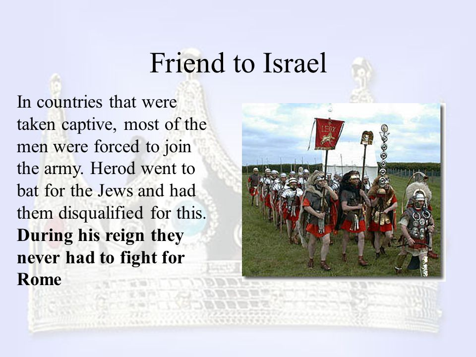Friend to Israel
