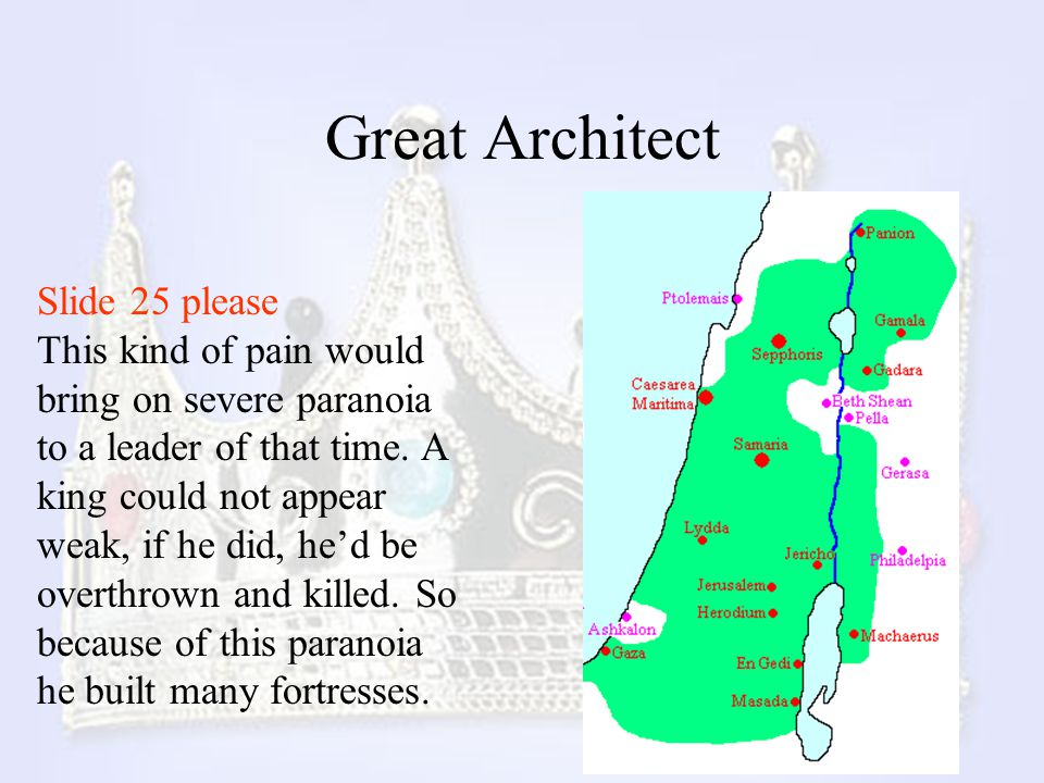 Great Architect Slide 25 please