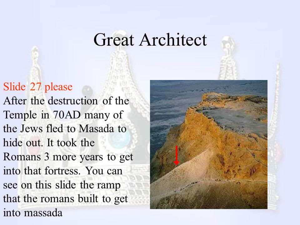 Great Architect Slide 27 please