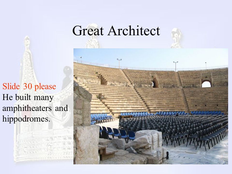 Great Architect Slide 30 please