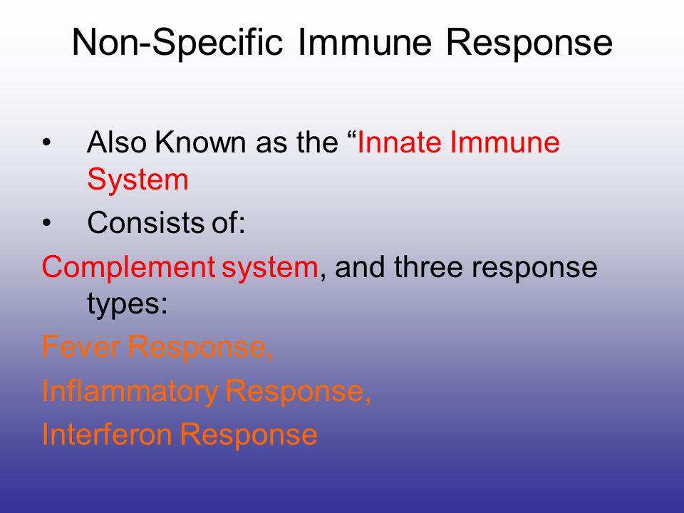 Non-Specific Immune Response