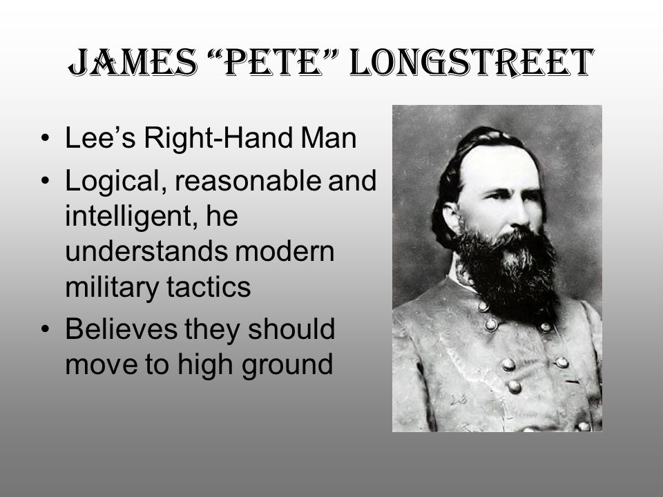 James Pete Longstreet