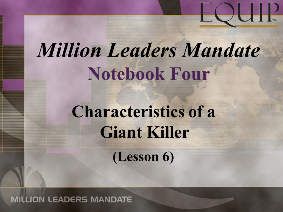 Million Leaders Mandate Notebook Four