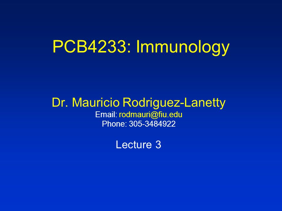 Dr. Mauricio Rodriguez-Lanetty