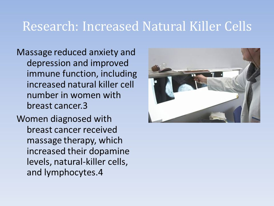 Research: Increased Natural Killer Cells