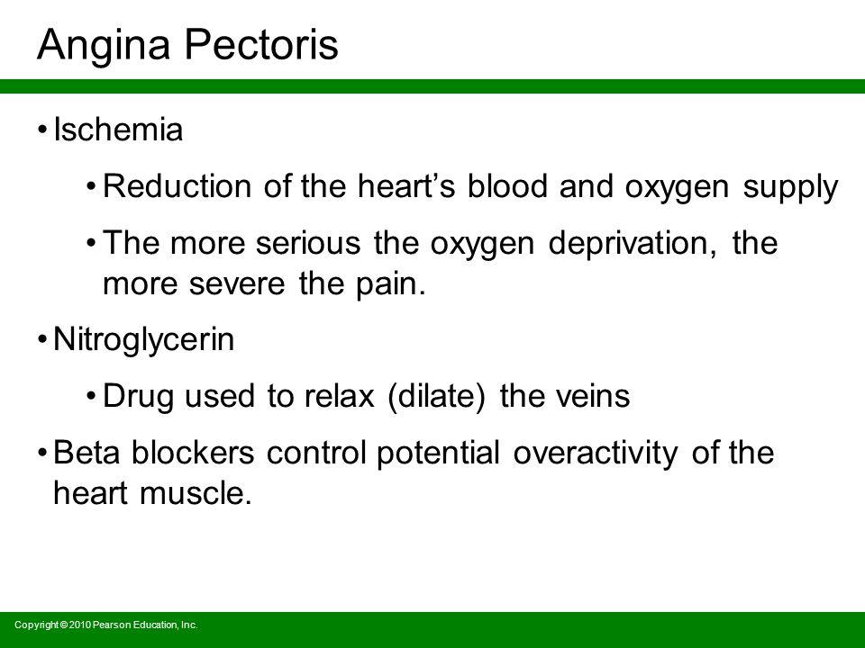 Angina Pectoris Ischemia
