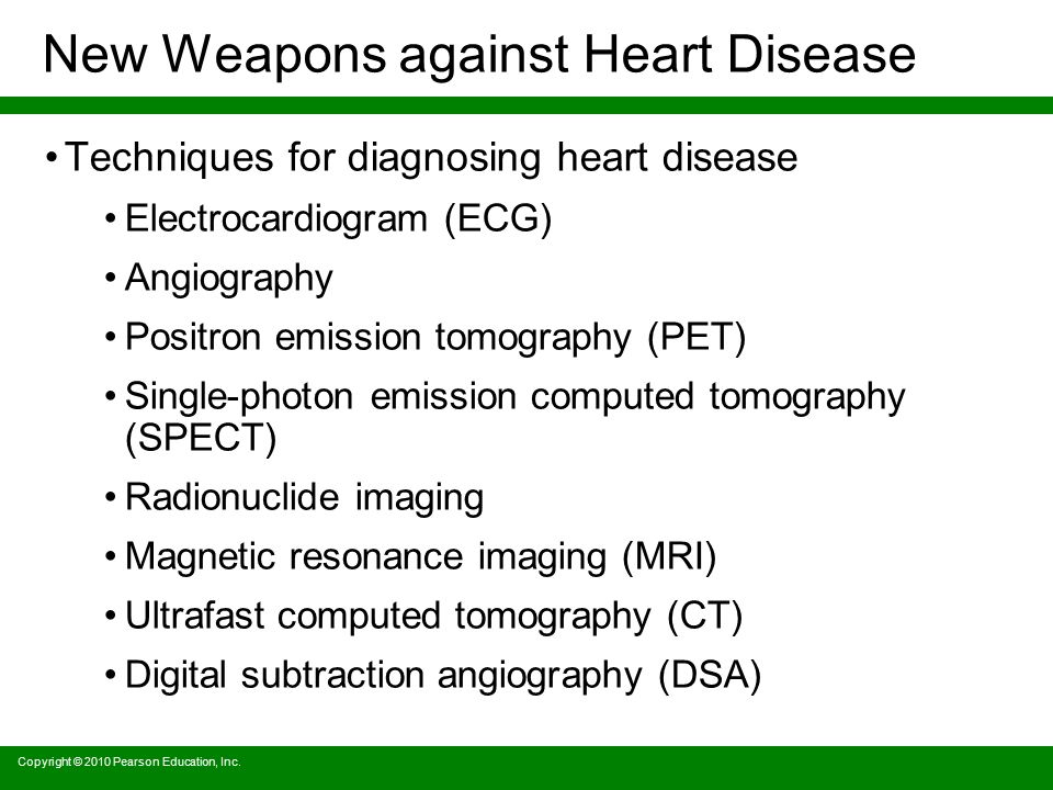 New Weapons against Heart Disease