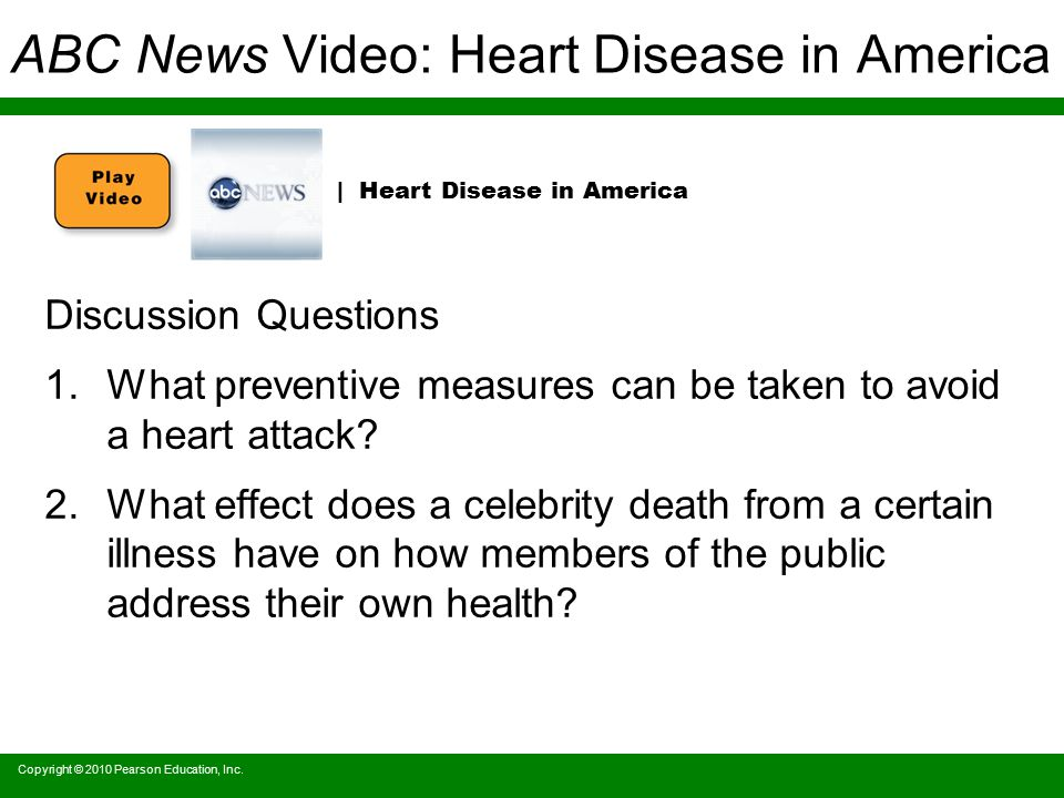 ABC News Video: Heart Disease in America