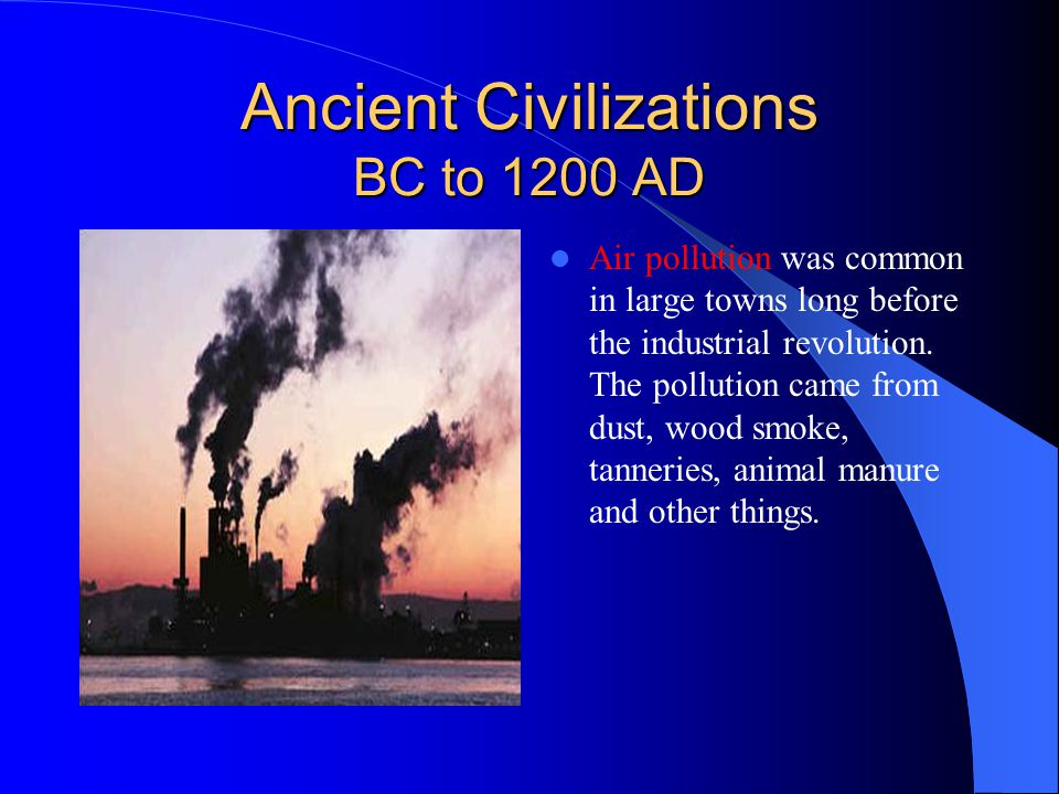 Ancient Civilizations BC to 1200 AD