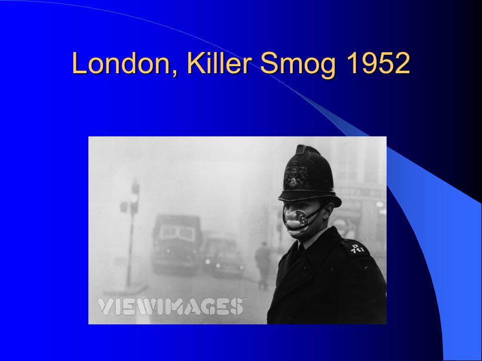London, Killer Smog 1952