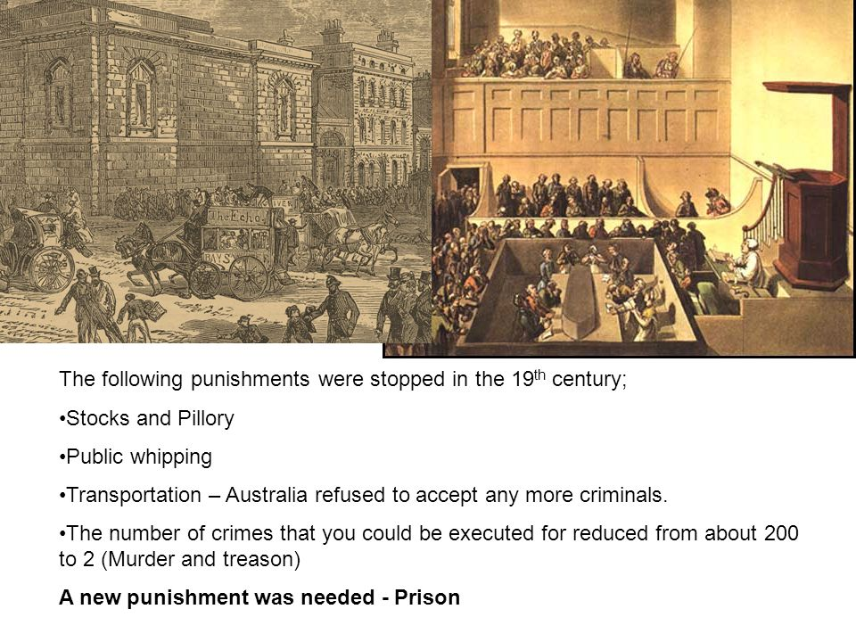 The following punishments were stopped in the 19th century;