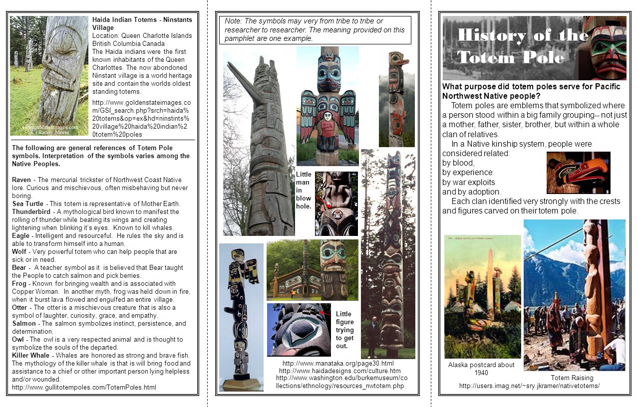 History of the Totem Pole