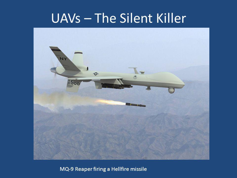 UAVs – The Silent Killer