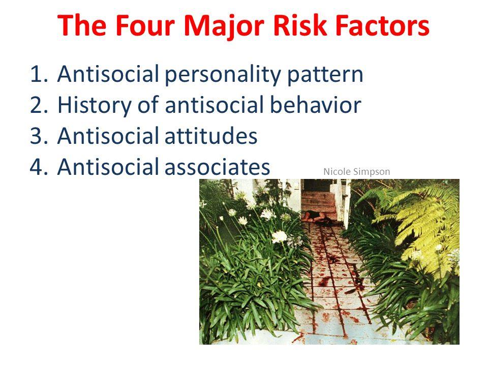 The Four Major Risk Factors