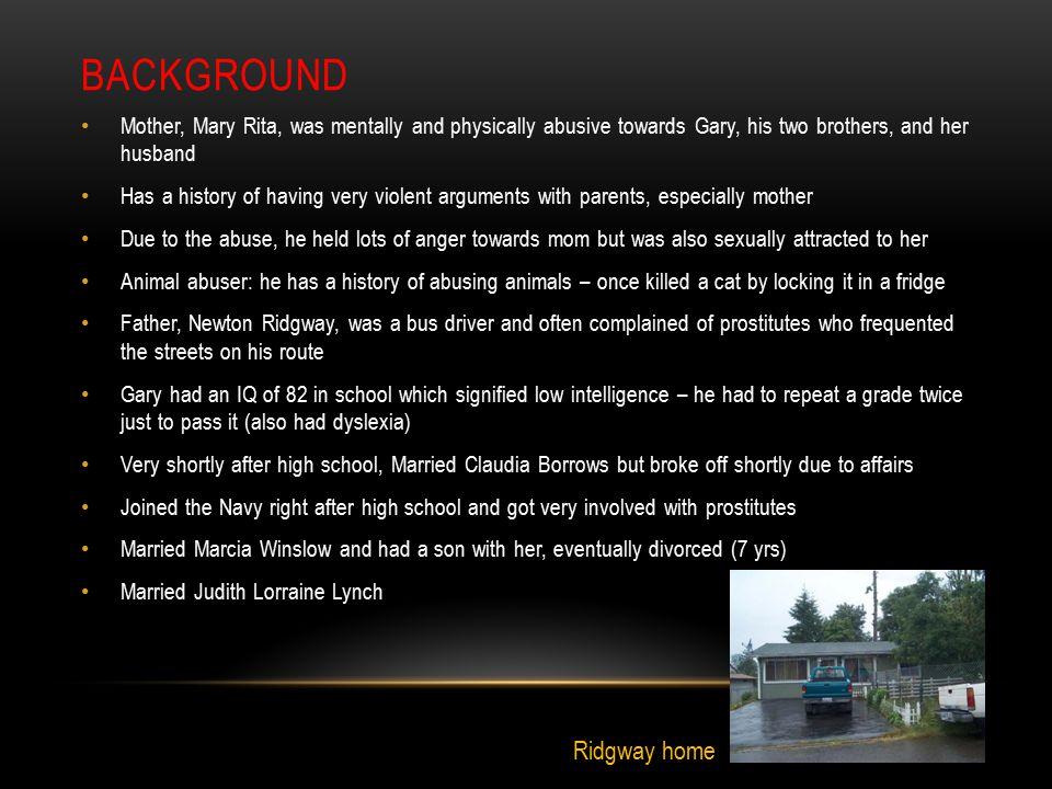 Background Ridgway home
