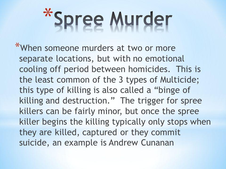 Spree Murder