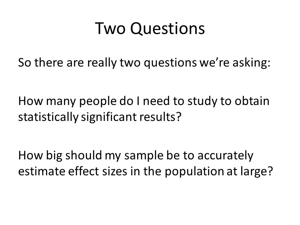Sample Size. - ppt download