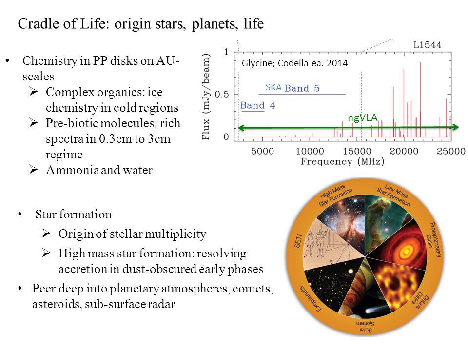 Cradle of Life: origin stars, planets, life