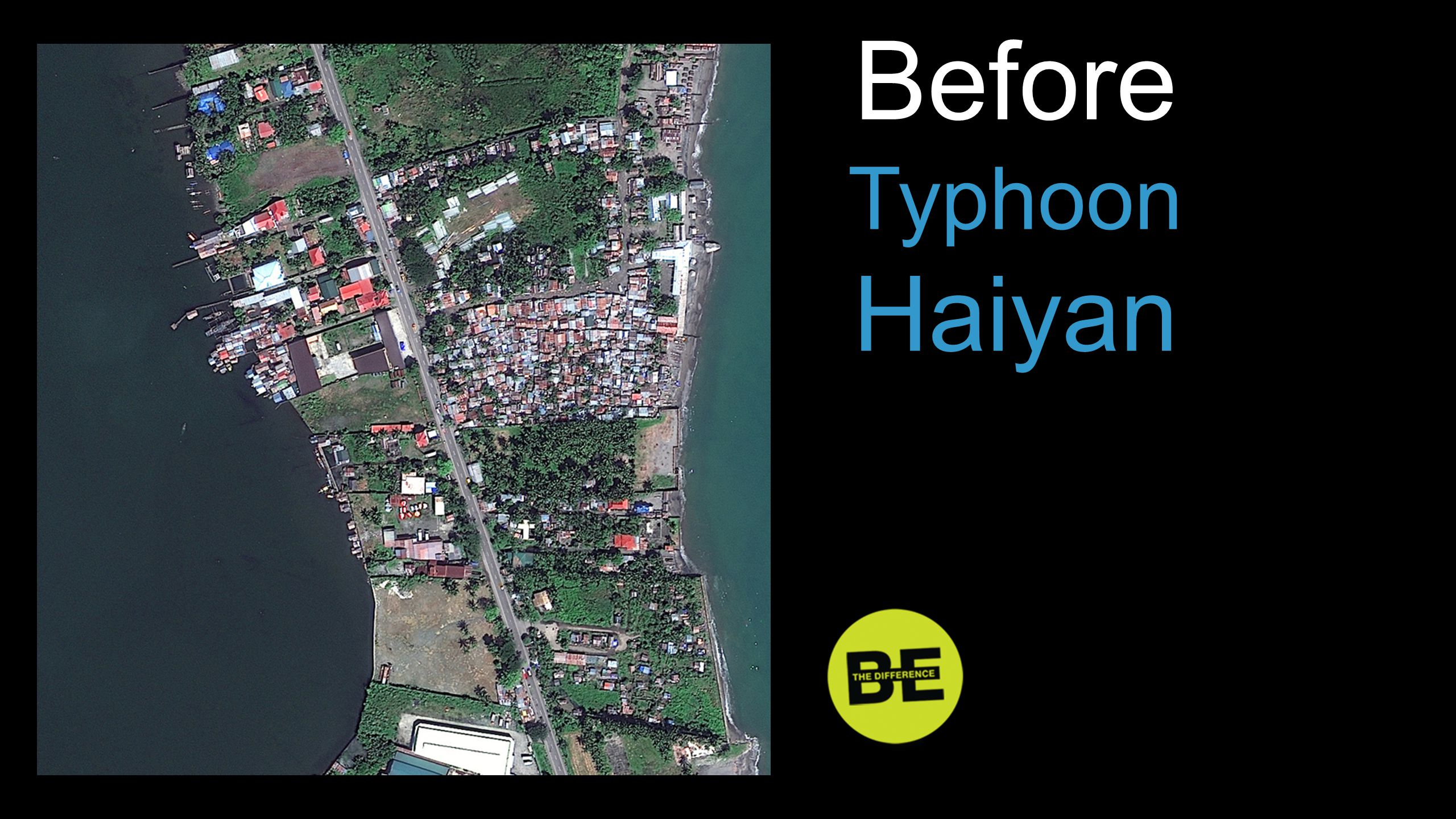 Before Typhoon Haiyan Before …