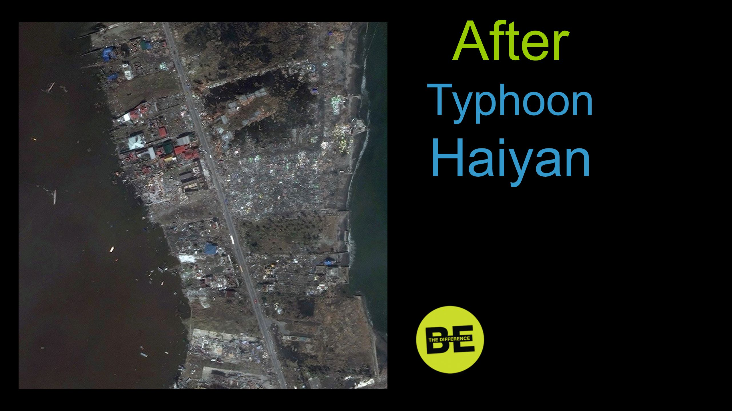 After Typhoon Haiyan After …