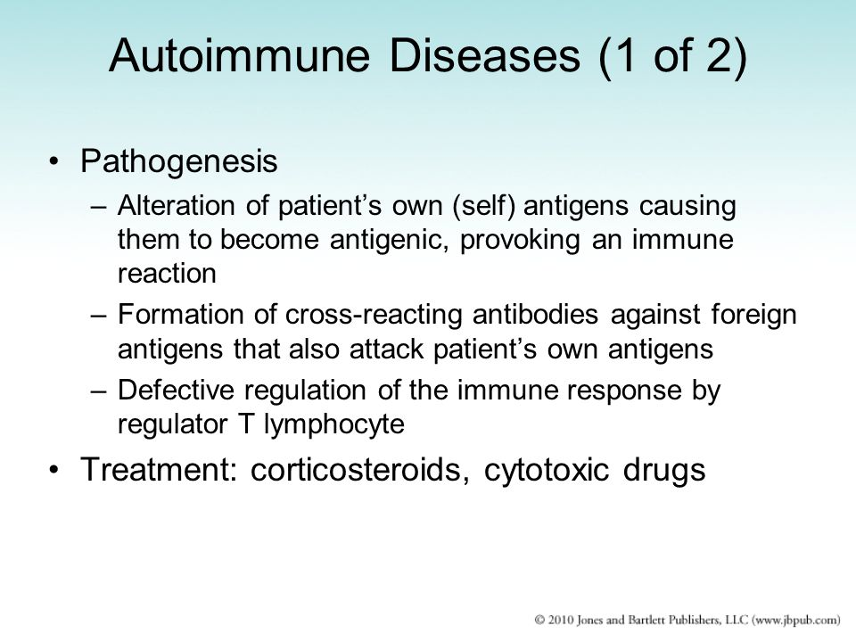 Autoimmune Diseases (1 of 2)