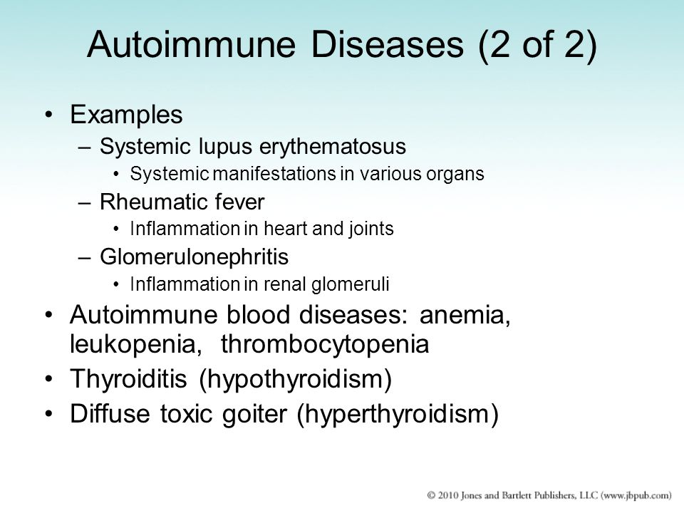 Autoimmune Diseases (2 of 2)