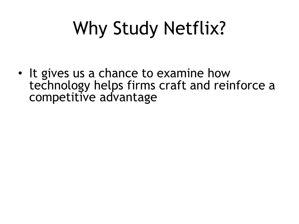 How the Netflix model impacts the environment, economy and society