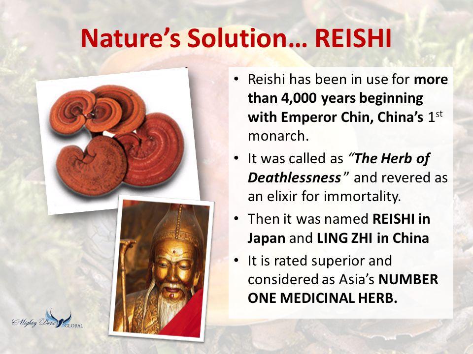 Nature's Solution… REISHI