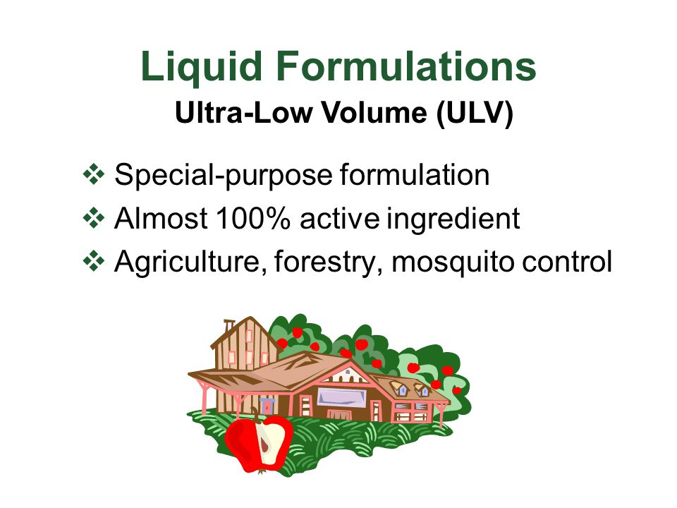 Ultra-Low Volume (ULV)