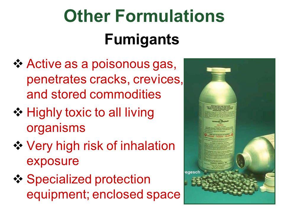 Other Formulations Fumigants