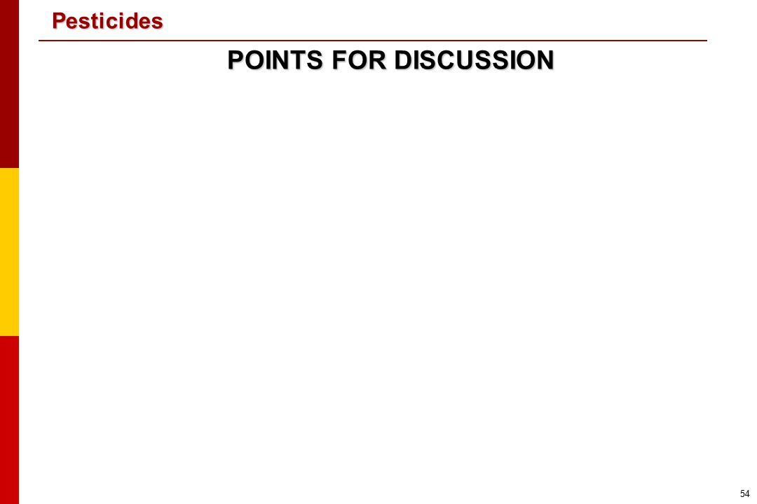 POINTS FOR DISCUSSION <<NOTE TO USER: Add points for discussion according to the needs of your audience.>>