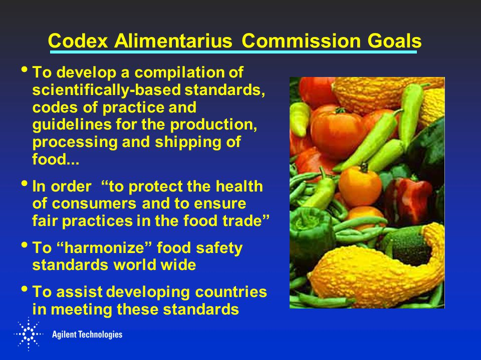 Codex Alimentarius Commission Goals