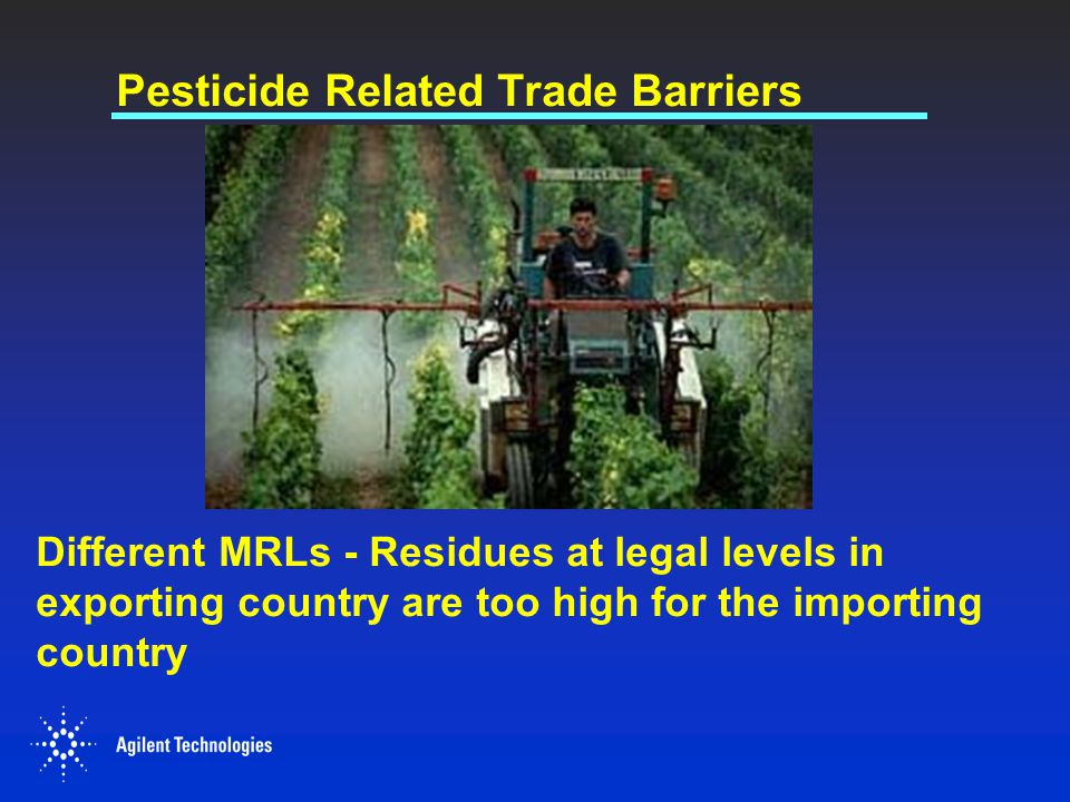 Pesticide Related Trade Barriers