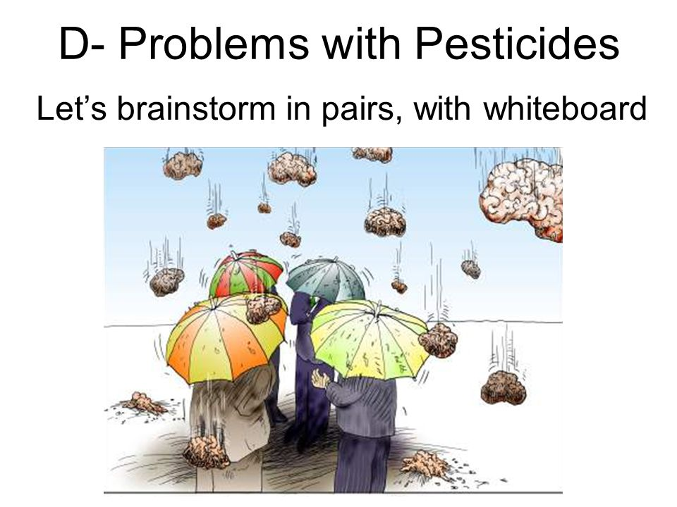 D- Problems with Pesticides
