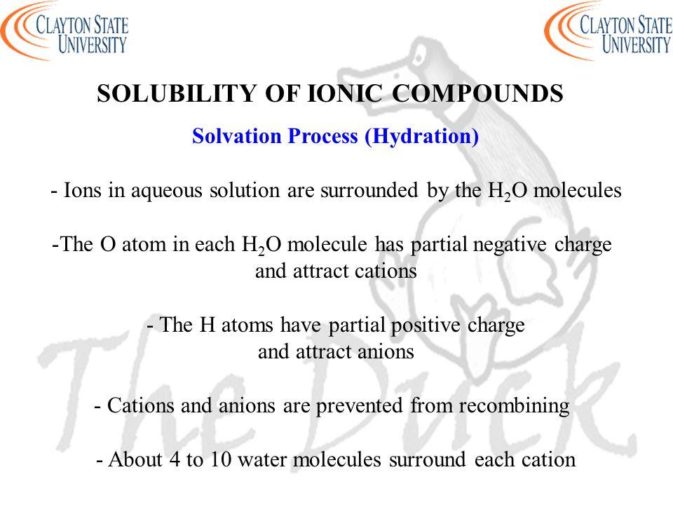 Solvation Process (Hydration)