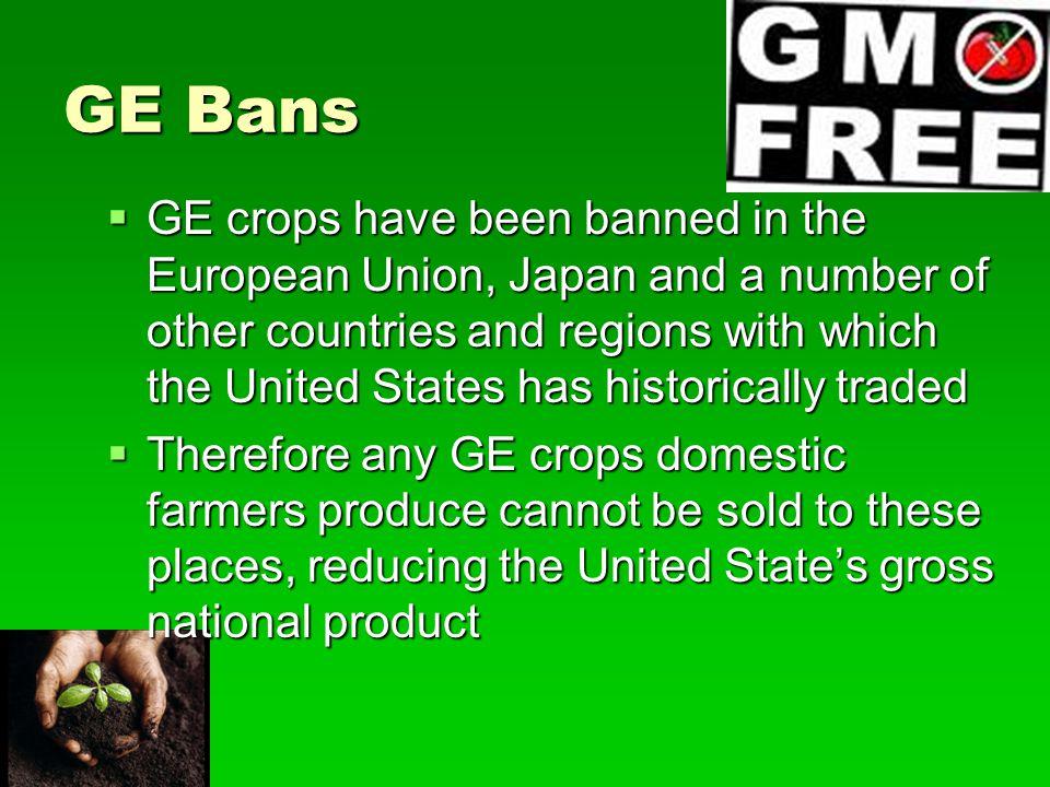 GE Bans