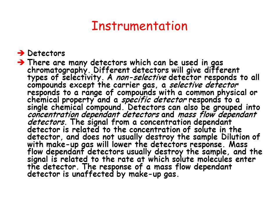 Instrumentation Detectors