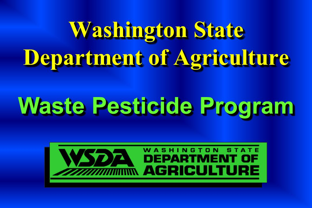 Washington State Department of Agriculture
