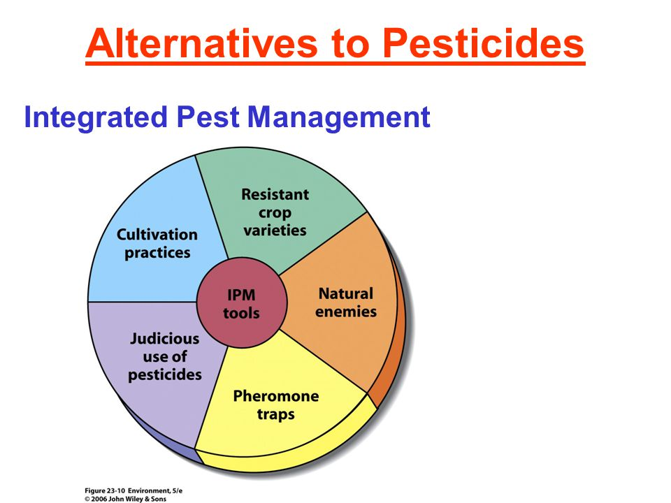 Pesticides its effects uses and alternatives