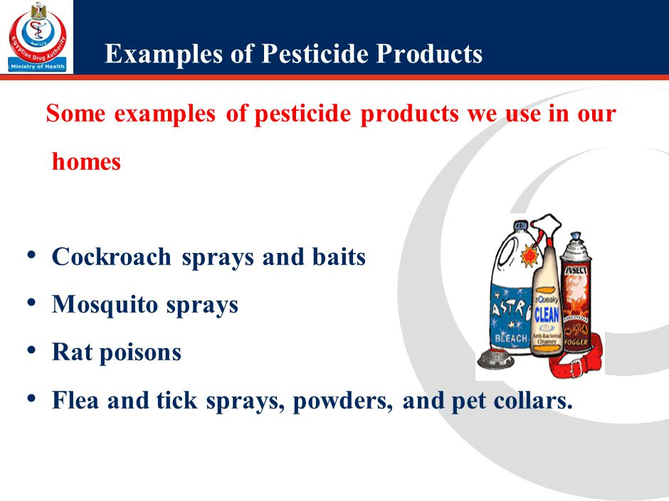 There are four types of Pesticides Incidents: