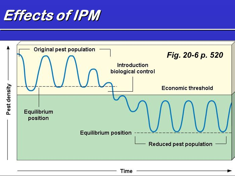 Effects of IPM Fig. 20-6 p. 520