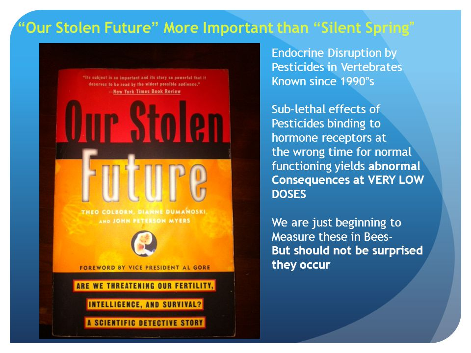 Our Stolen Future More Important than Silent Spring