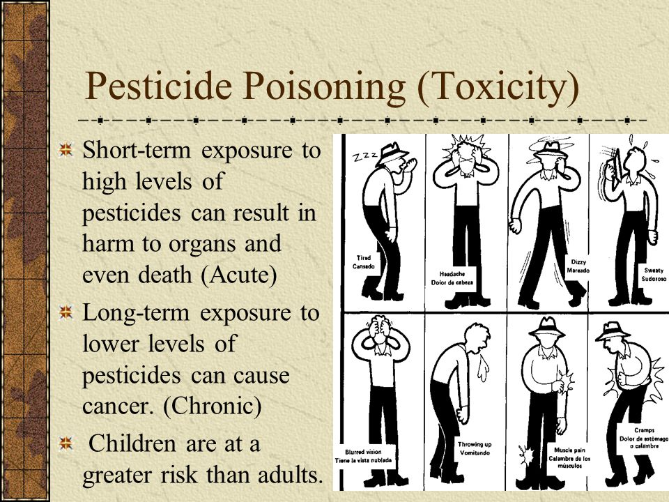 Pesticide Poisoning (Toxicity)