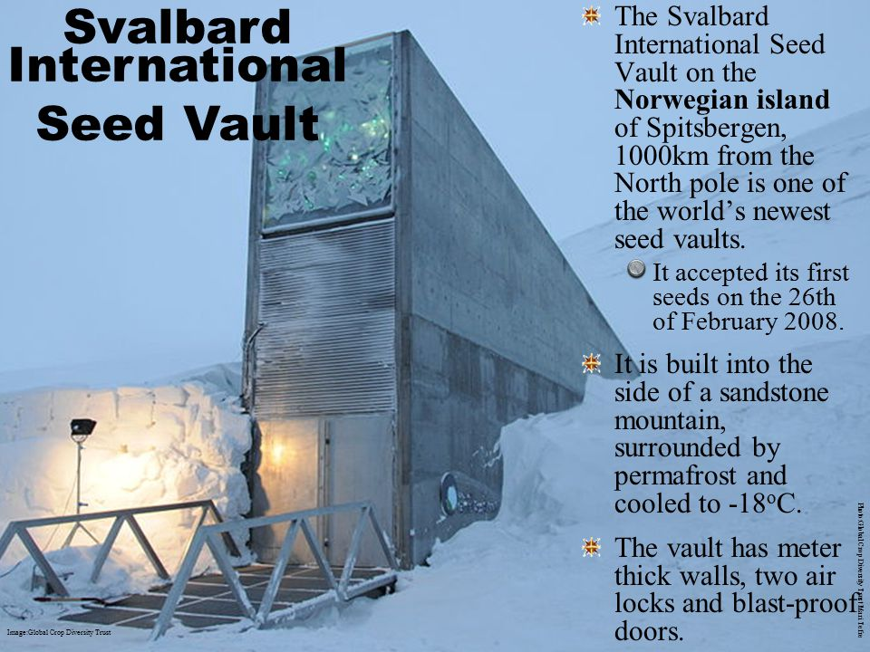 Svalbard International Seed Vault