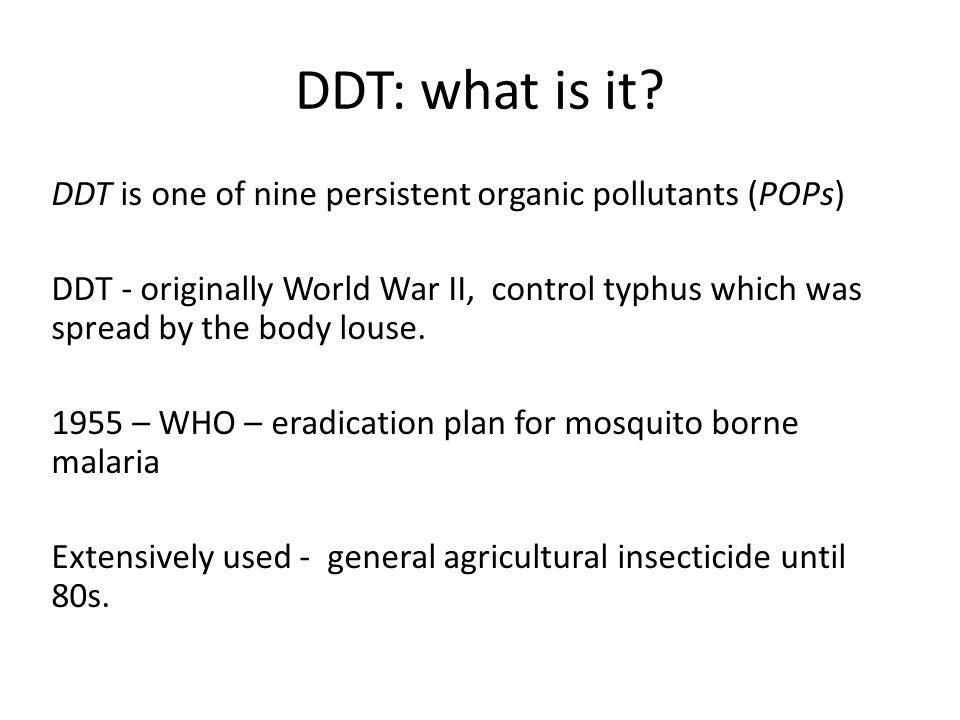 DDT: what is it